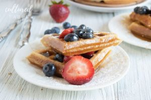 The Perfect Belgian Waffle Recipe