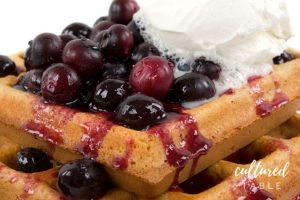Easy Blueberry Sauce Recipe for Topping Waffles and Pancakes