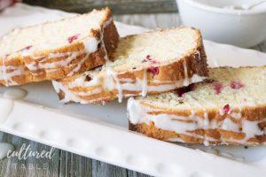 Easy Lemon Cranberry Cake Recipe