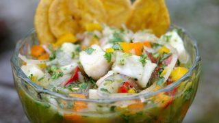 Fish ceviche {Ceviche de pescado}