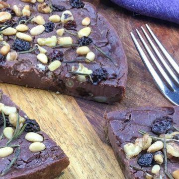 chestnut cake (castagnaccio)