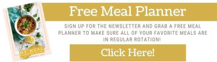 free meal planner sign up